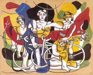 Quattro ciclisti