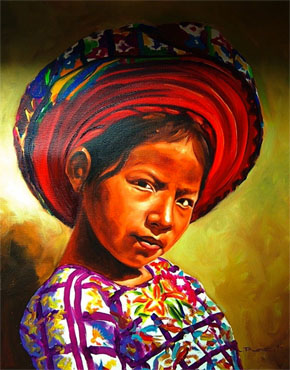 Girl from Guatemala