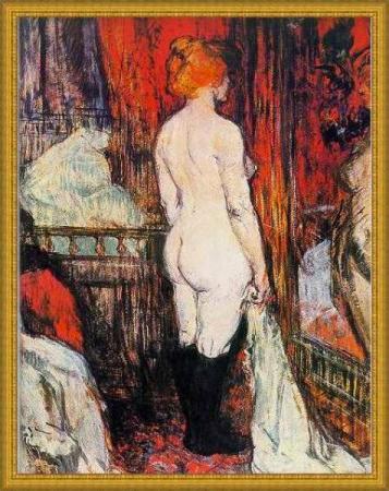 Nudo Lautrec