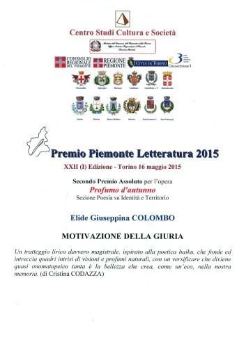 Premio Piemonte Letteratura